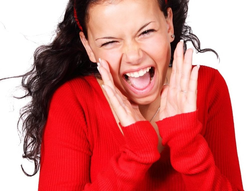 Gridare fa bene o fa male?