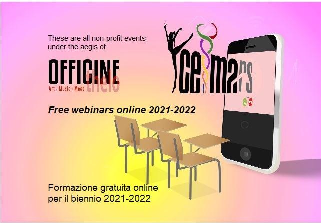 formazione gratuita ceimars 2021 2022 free webinars