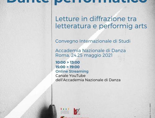 Musical: voce e corpo per Dante Alighieri * Dante in the Musical Theatre