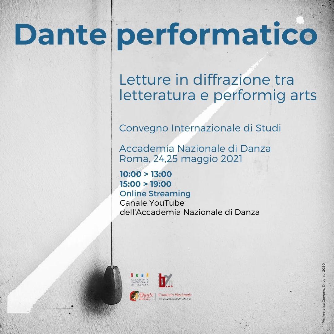Musical: voce e corpo per Dante Alighieri * Dante into the Musical Theatre